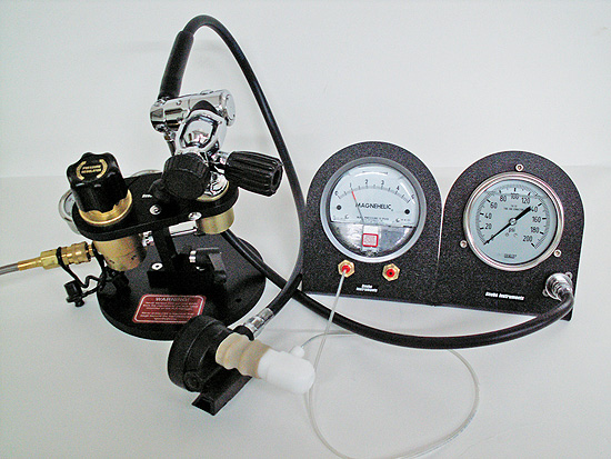 Scuba Testing Equipment and Tools - High Pressure Manager